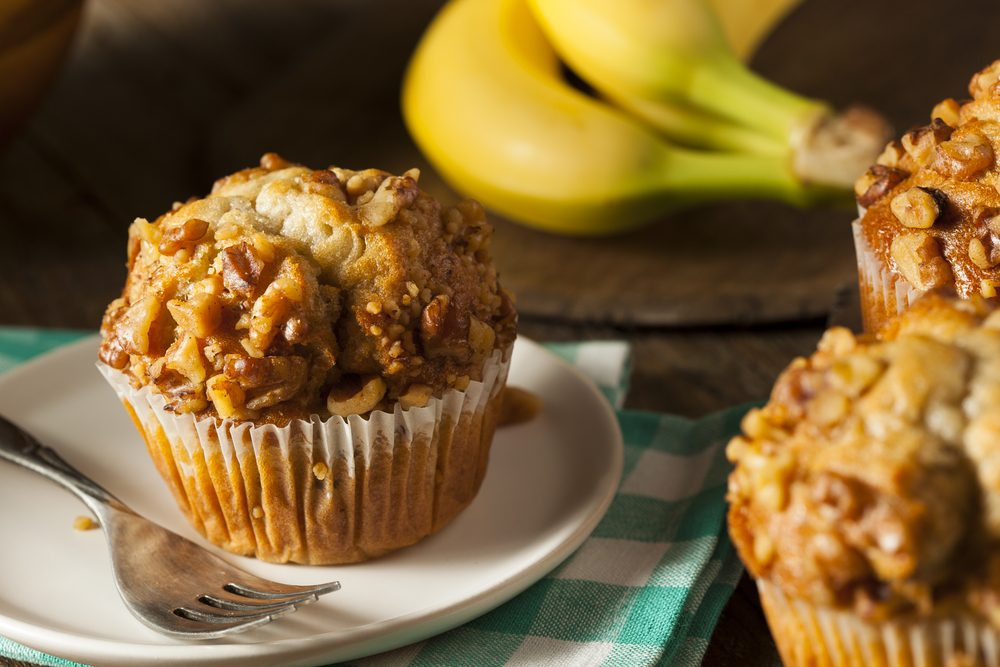 quick and easy breakfast ideas   healthy breakfast   nut and jam muffins