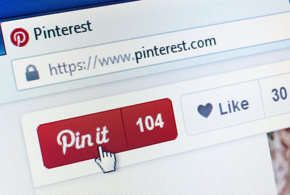 Pinterest-page