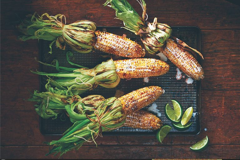 healthy side dishes | grilled corn