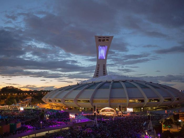 parc olympique montreal