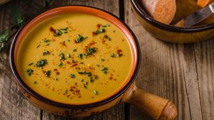 This Creamy Sweet Potato Soup Will Make Your Day That Much Cozier