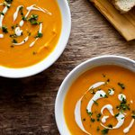 This Sweet Potato and Carrot Soup Is a Filling Dish for a Chilly Fall Day