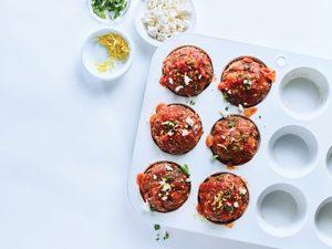 Greek Meatloaf Muffins