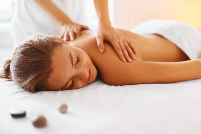 massage beat stress