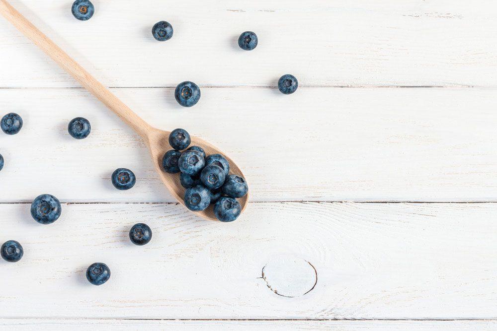 blueberries beat stress