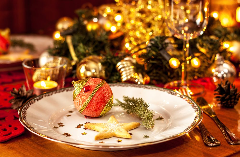 stay healthy during the holidays - christmas dish