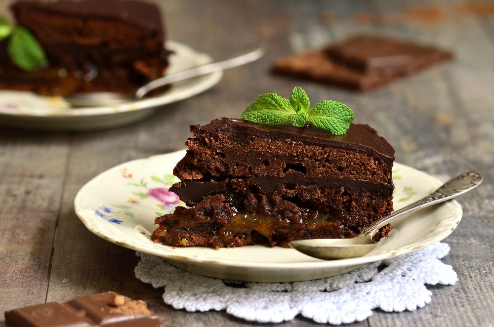 dark chocolate torte_