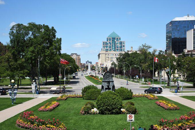24 hours in Winnipeg