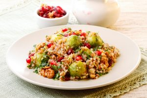 Buckwheat and Cranberry Salad