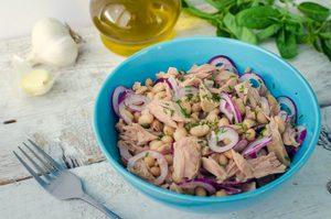 Bean Salad with Tuna