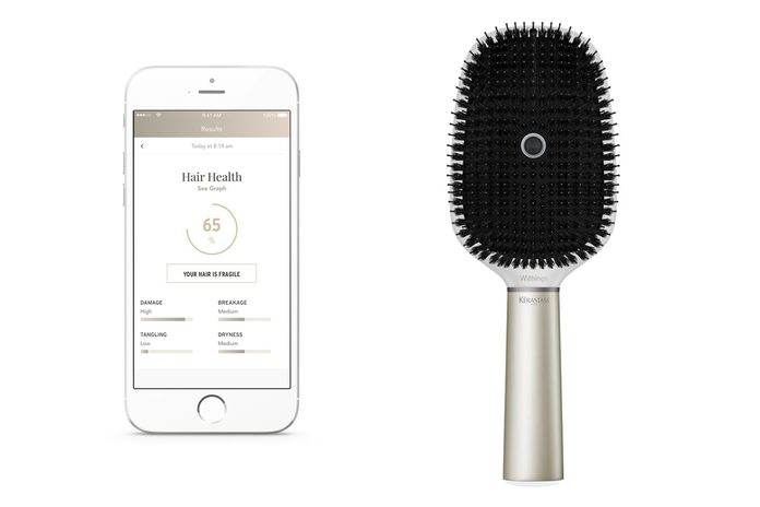 Kerastase Hair Brush Powered by Withings,