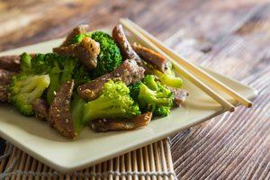 Thai Beef and Broccoli Salad
