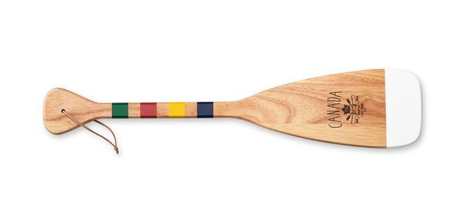 GRAND PORTAGE Keepsake Souvenir Paddle with Leather Strap, $20