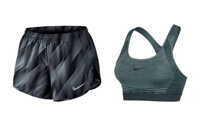 sport bra or shorts