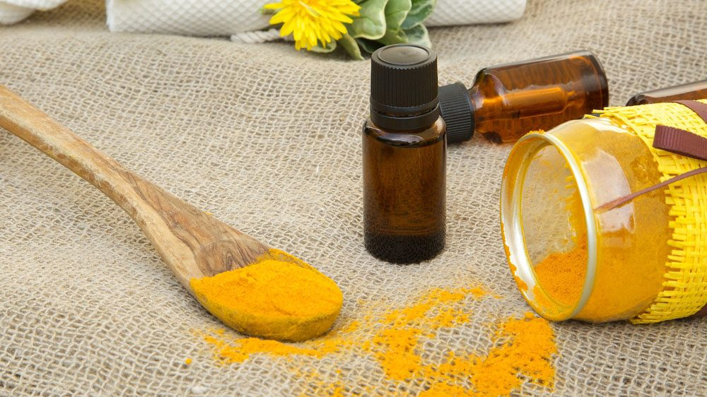 tinctures and powdered turmeric