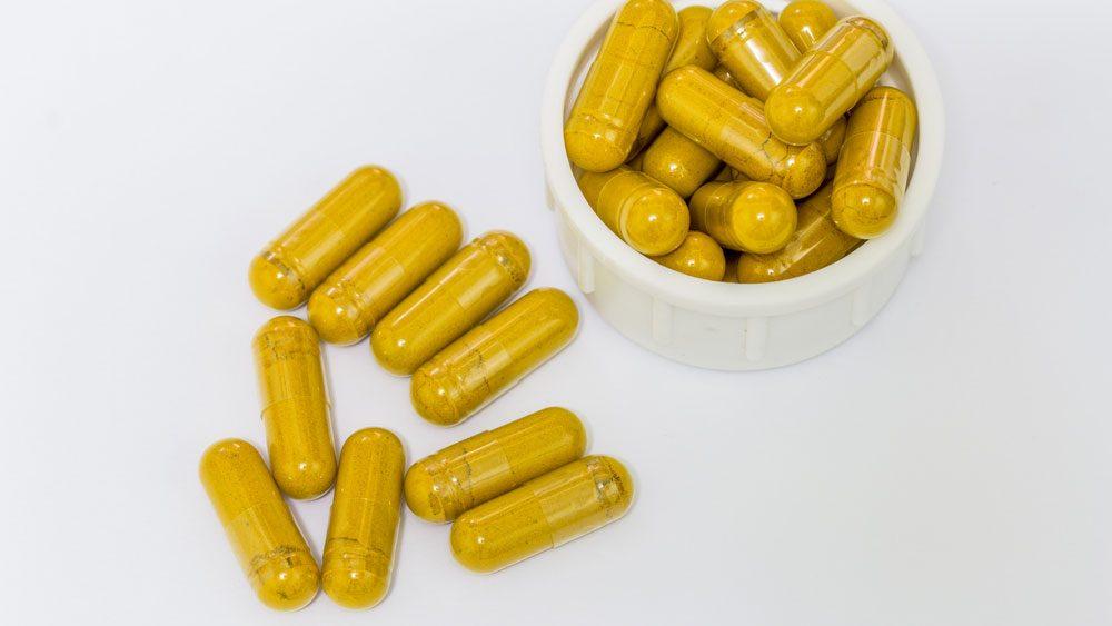 turmeric in capsules