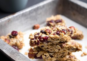 These Banana Peanut Butter Granola Bars Will Fuel You All Morning Long