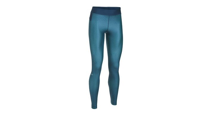 bright leggings with meta triangle print