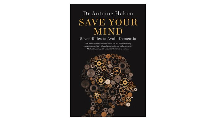 Book cover image of Save Your Mind, black with watch parts to make up a silhouette of a head