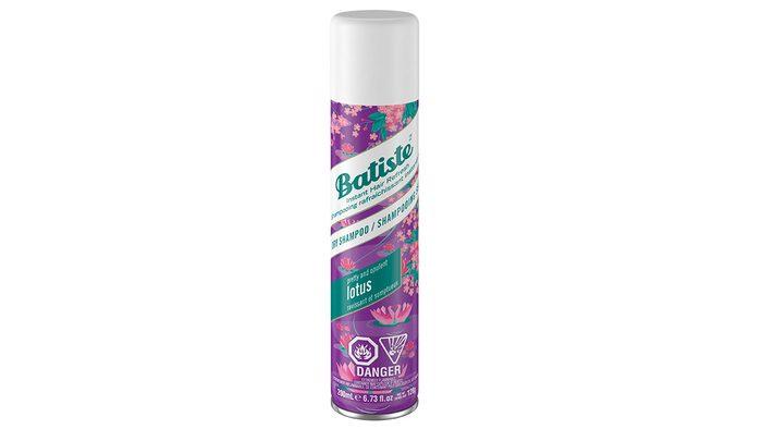 can of Batiste dry shampoo