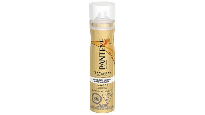 can of Pantene hairspray