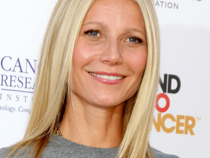 Headshot photo of Gwyneth Paltrow on the red carpet