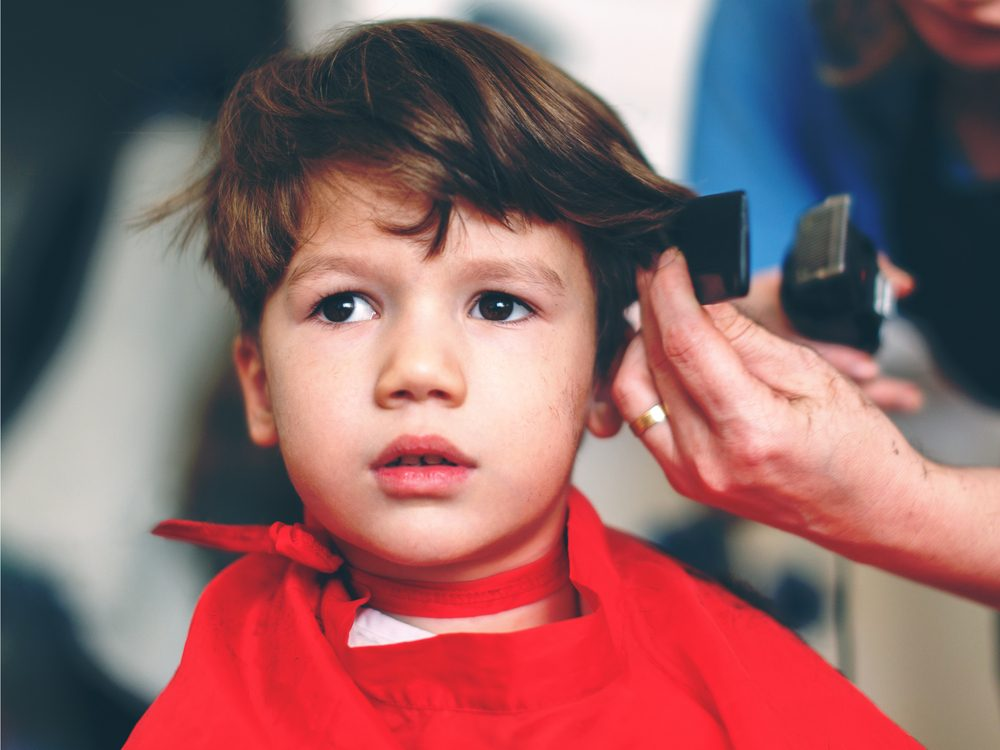 Hair stylist secret: kids' haircuts aren't child's play