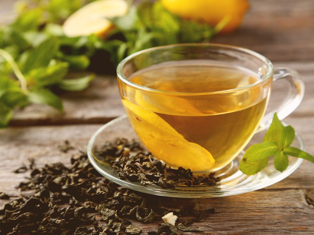 Green tea is one of the surprising home remedies for acne