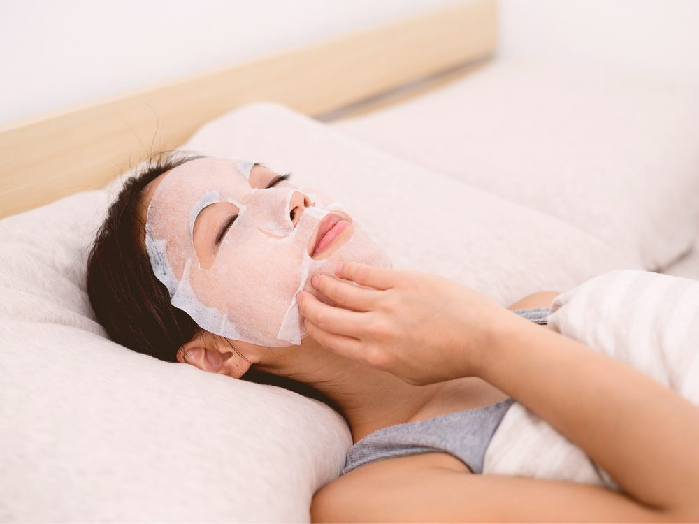 People with great skin make a habit of applying a Korean sleeping mask