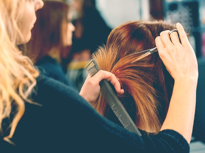 Hair stylist secret: tips should be 15 to 20 per cent of the total cost of your bill