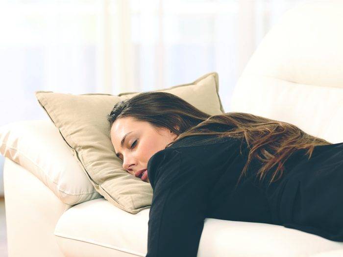 You could be tired because you have an infection
