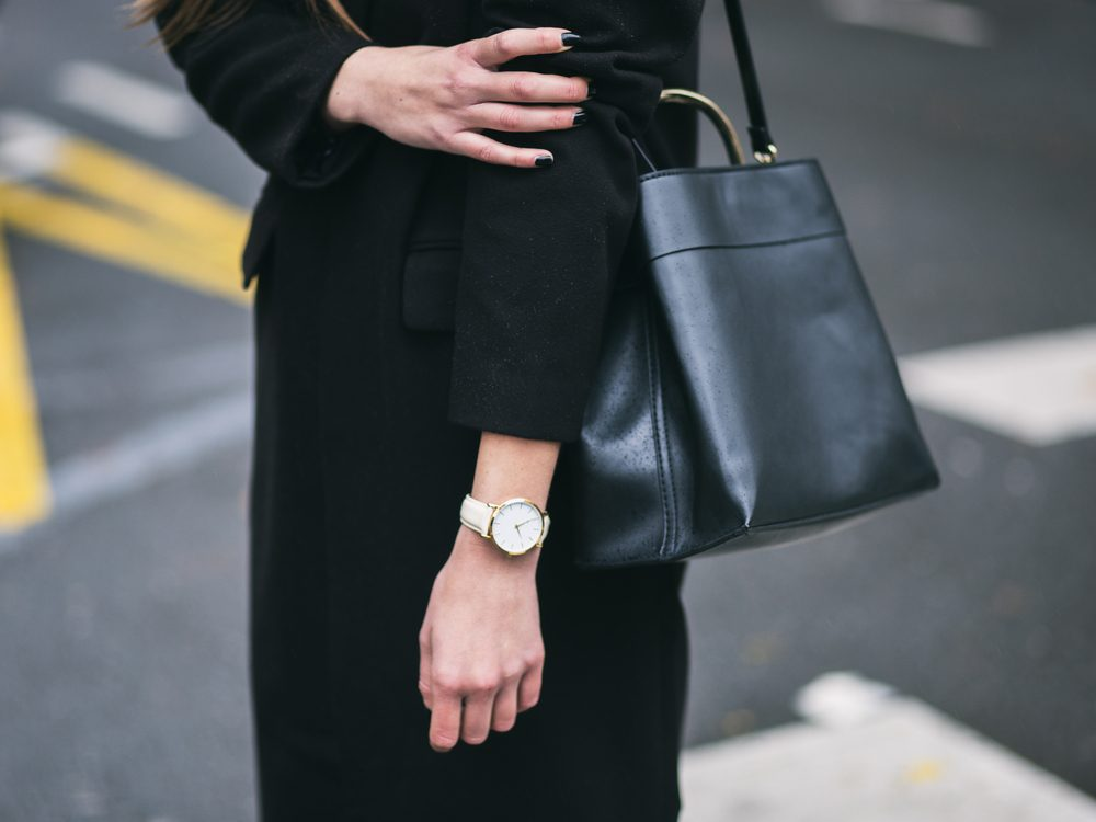 Wearing a monochrome look is a sneaky fashion trick to make you look 10 pounds lighter