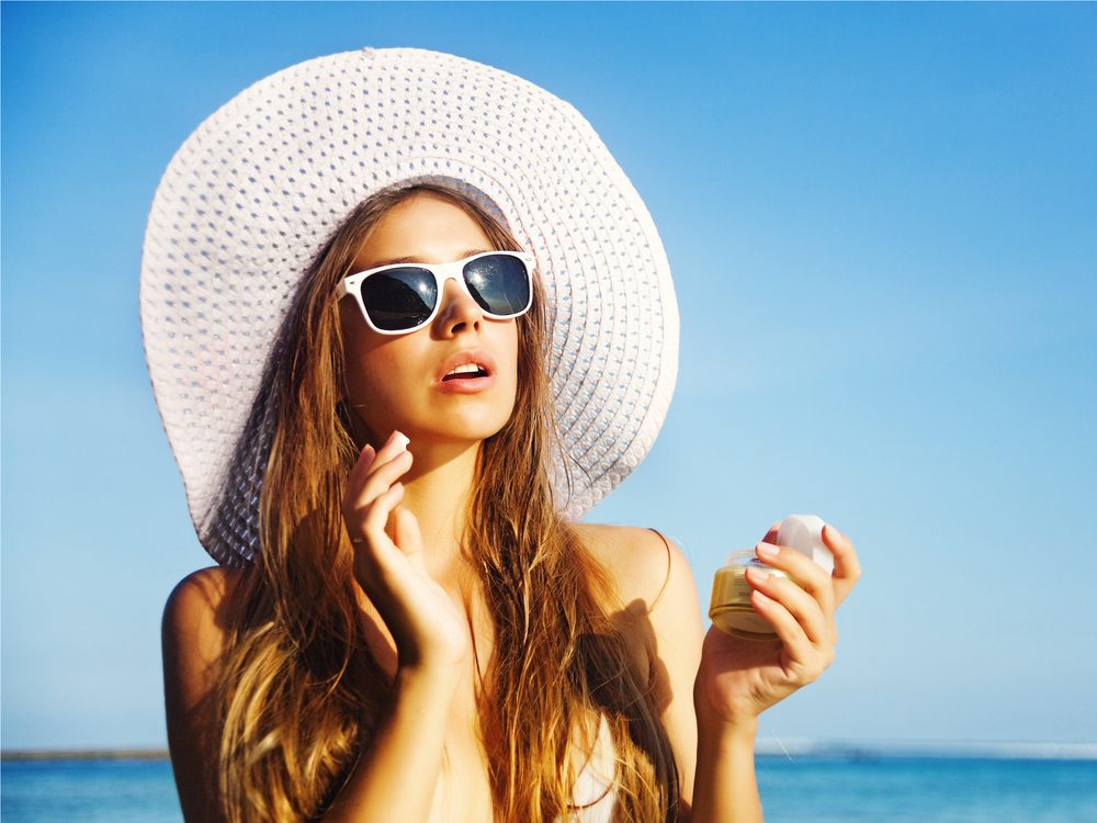 Only protecting your face is a sunscreen skin care myth