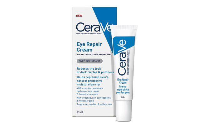 Skin Savers eye repair, box and bottle image of the eye cream