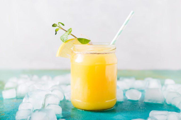 quick and easy breakfast ideas   healthy breakfast   almond orange smoothie