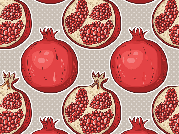 Put pomegranate on your list for beautiful skin