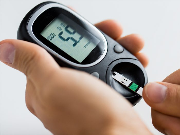 Remember to have a glass of wine or beer only if your blood sugar typically falls within your target range