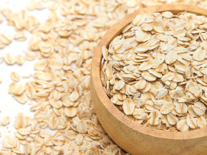 Skinny people eat oats