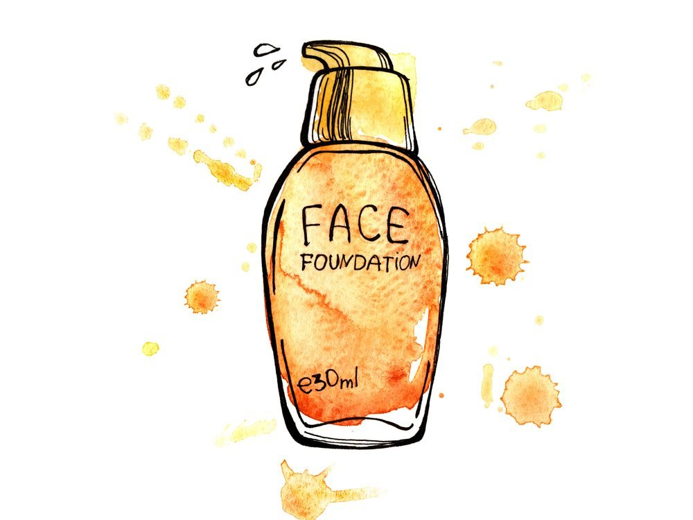 Going gold in your foundation if you're over age 50 can make you look younger