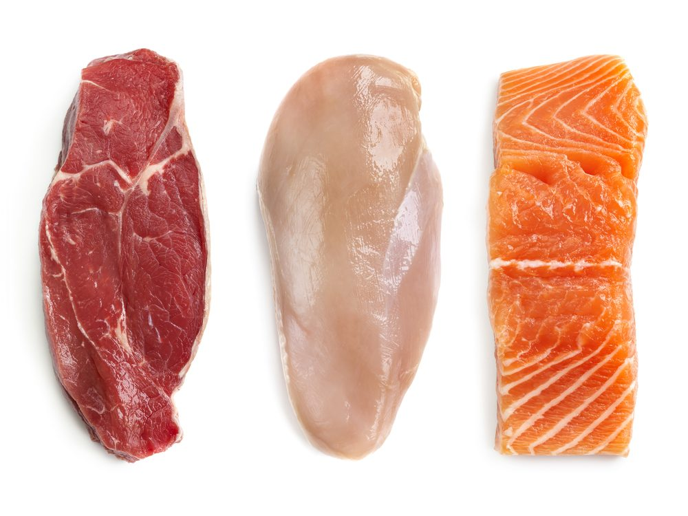 Lean protein is some of the best food for your belly