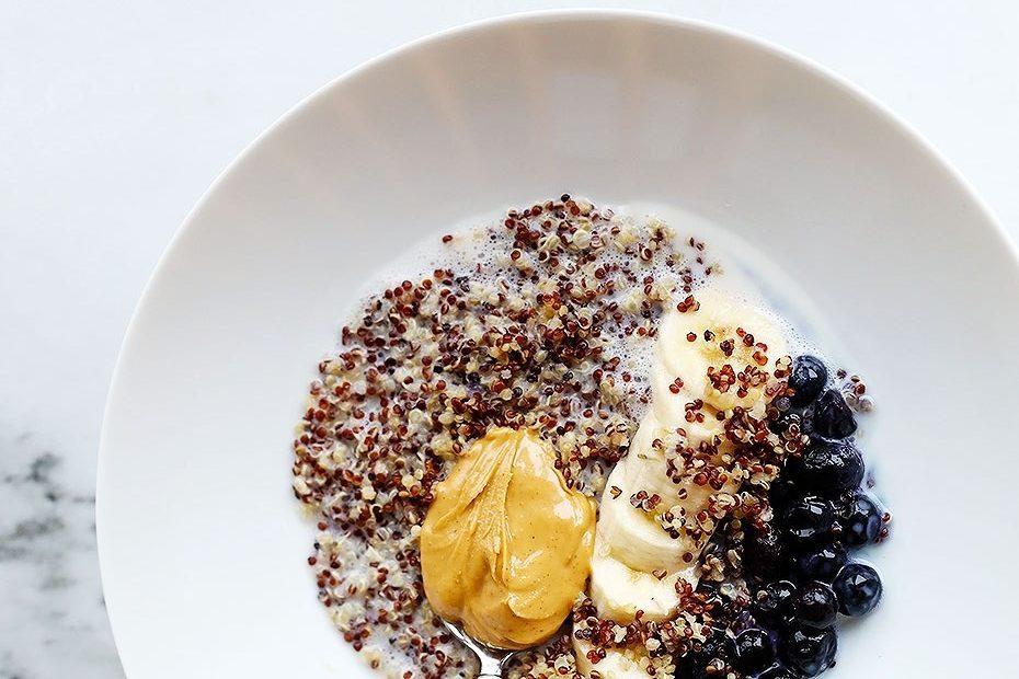 quick and easy breakfast ideas   healthy breakfast   quinoa bowl