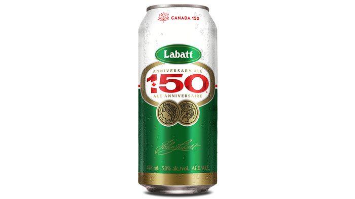 Canadiana Labatt 150, can of the beer