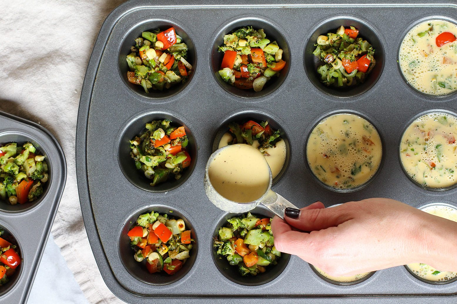 quick and easy breakfast ideas   healthy breakfast   chickpea flour frittatas