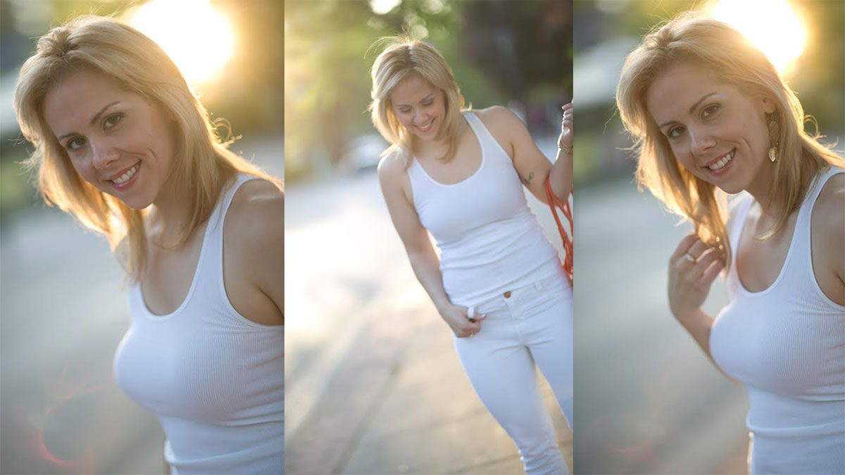 paleo diet food allergies, three photos of Gail Michaelski