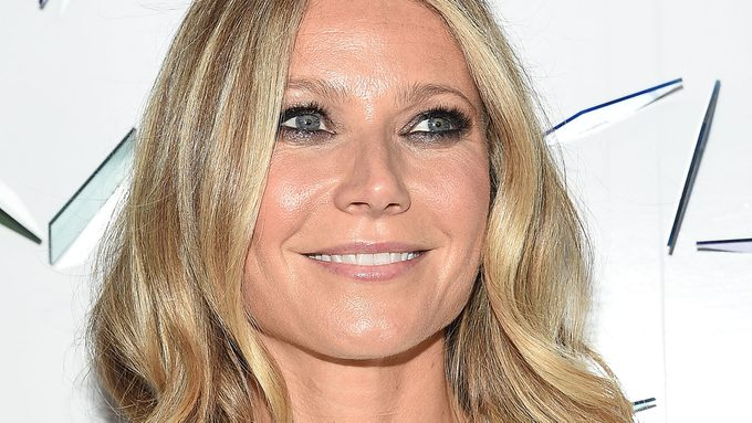 On the red carpet, Gwyneth Paltrow admitted to skipping breakfast