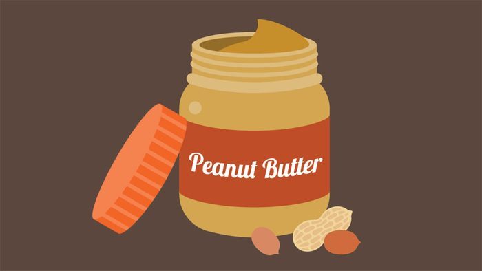 Hiccups, peanut butter