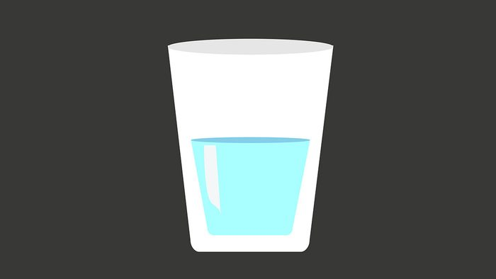 Hiccups, water
