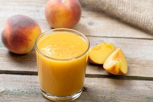 Ginger-Peach Smoothie