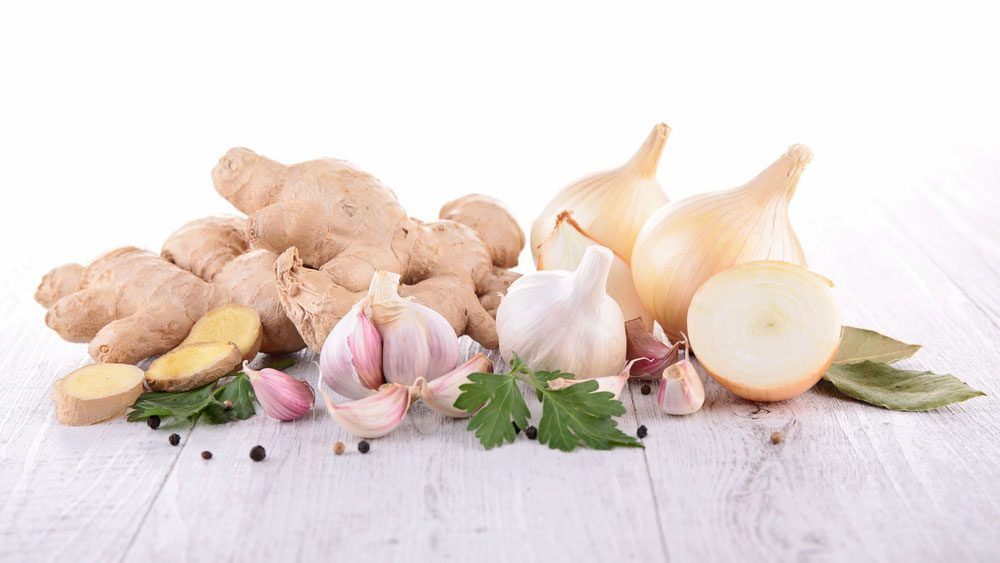 foods for a healthier heart, root vegetables on a cutting board