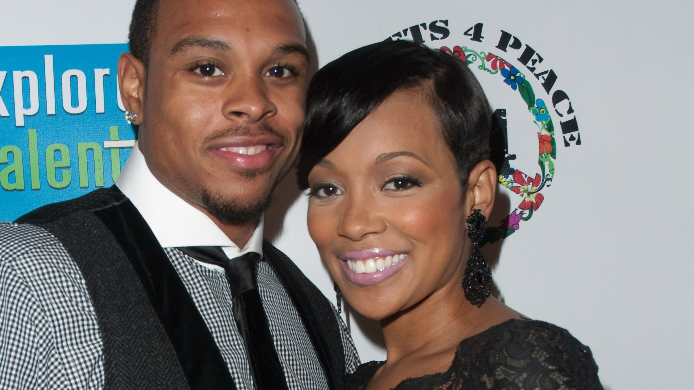 Monica endometriosis, the singer shown with her husband